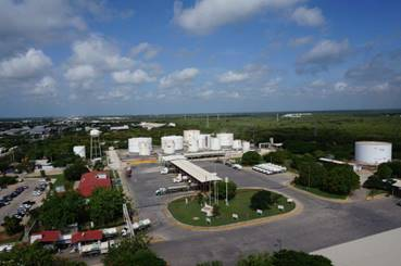 Petróleos Mexicanos garantiza abasto de combustible en la Península de Yucatán