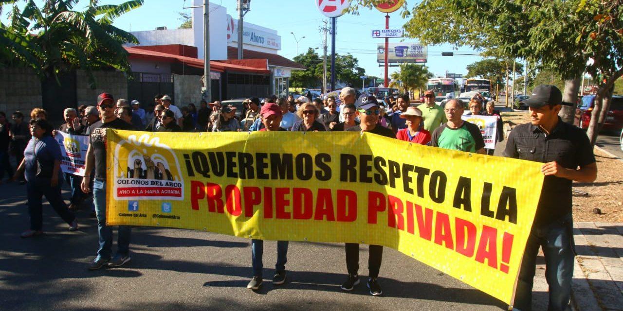 Vecinos de Arco y Vista Alegre se ponen la camisa negra y toman las calles (video)