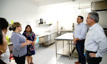 Así quedó en Mérida refugio para mujeres víctimas de violencia