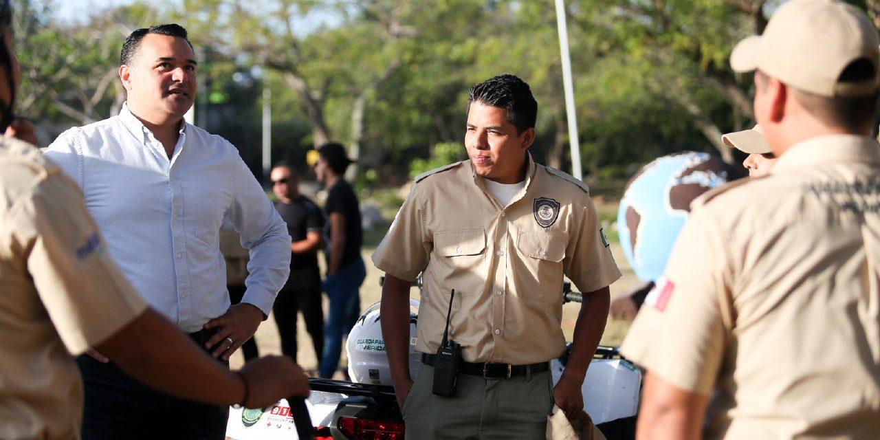 Guardaparques en Mérida, revisan resultados en una semana