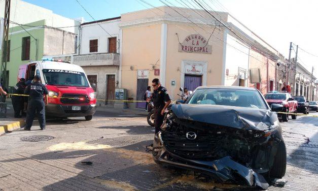 Nueve lesionados en accidente de combi de pasajeros ruta Ciudad Caucel