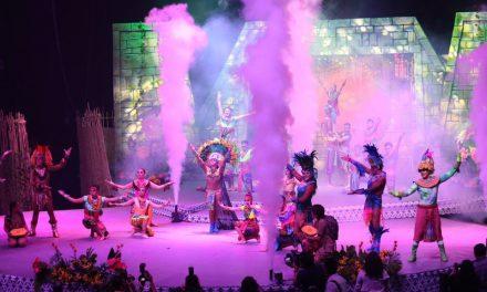 """Así la coronación de reyes juveniles e infantiles de """"El Nuevo Carnaval, La Fiesta de Mérida 2019"""""""