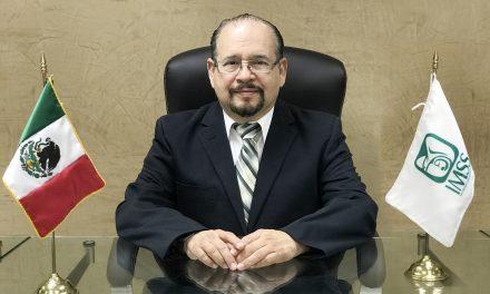 Pedro Armando Marín Campos asume como delegado del IMSS en Yucatán