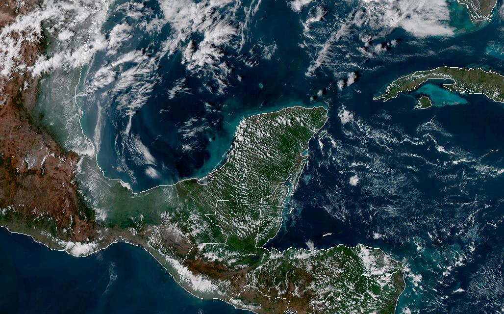 Altas temperaturas, de vuelta en #PenínsuladeYucatán