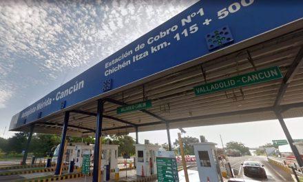 Para tomar en cuenta: tarifas 2019 en autopista Mérida-Cancún