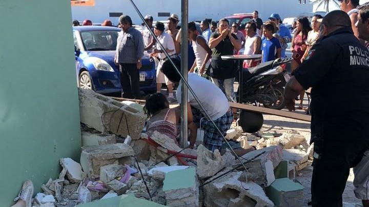 """En la mira dueño del """"Mocambo"""", derrumbado en Progreso"""