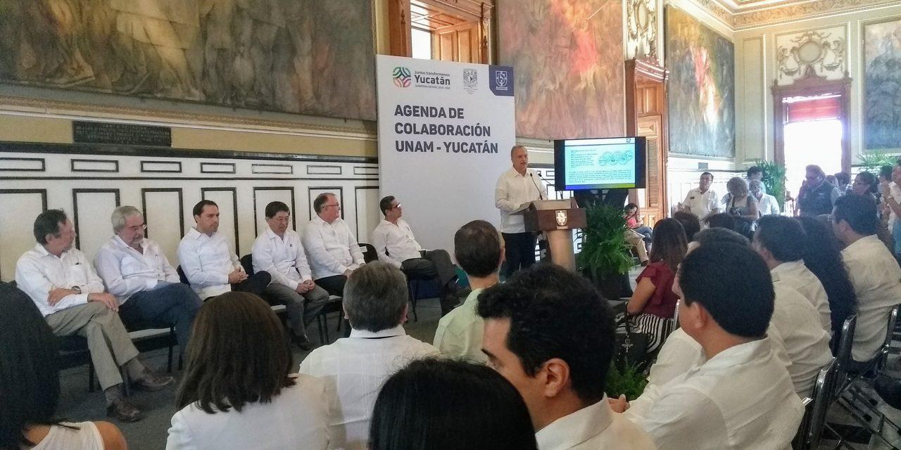 Reclama UNAM más fondos para ciencia; revisa agenda en Yucatán