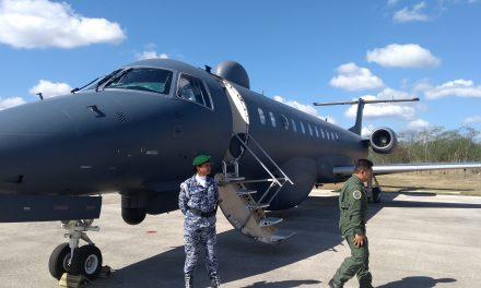 Con aeronaves de lucha anticrimen, festeja FAM aniversario (Vídeo)