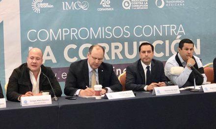 Prioridad en Yucatán combate a corrupción e impunidad.- Vila