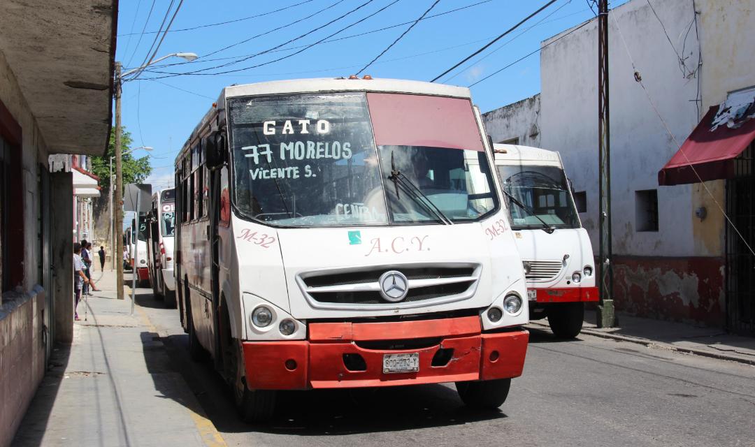 Bajan tarifas de autobuses de transporte público en Mérida (Vídeo)