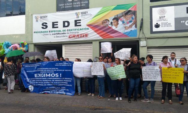 Levantan paro en Semarnat, pláticas de sindicalistas con Gobierno