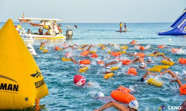 Certamen internacional de nado abierto en puerto yucateco