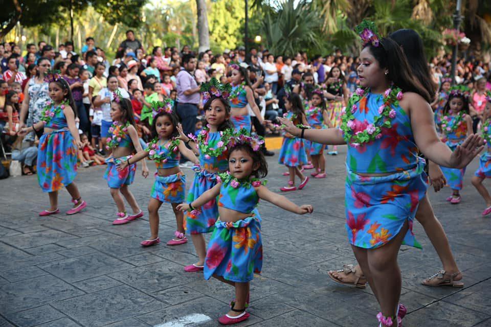 Marcan niños pauta de alegría en Carnaval de Mérida 2019 (video)