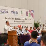 Scouts apoyarán en Mérida en sustentabilidad y respeto al medio ambiente
