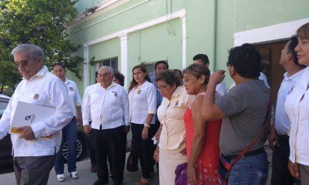 Comitiva sindical de Salud en Yucatán presiona en demandas