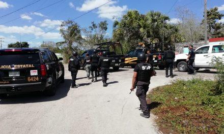 Disparos con arma de fuego en Motul derivan en despliegue policíaco (Vídeo)