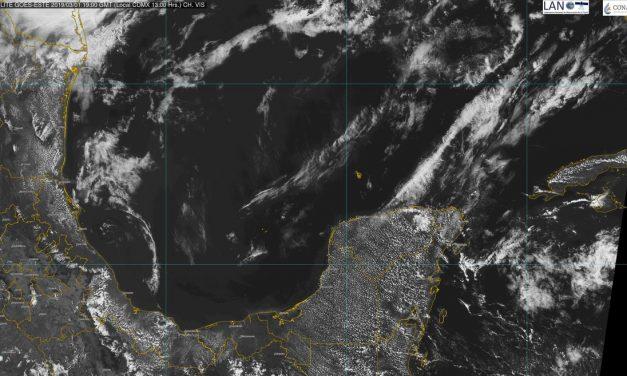Calor sin tregua, hasta 39 grados en Península de Yucatán