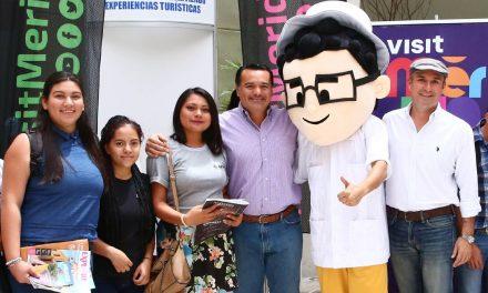 Jóvenes exploran potencialidades del turismo en Mérida