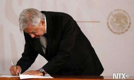 Compromiso firmado: AMLO no buscará reelección
