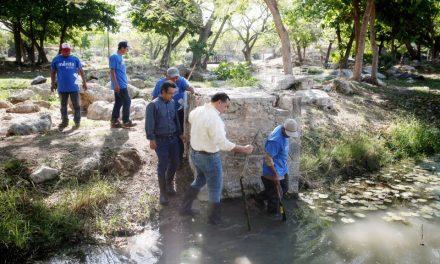 Inédito dragado de lago en Parque Ecológico del Poniente