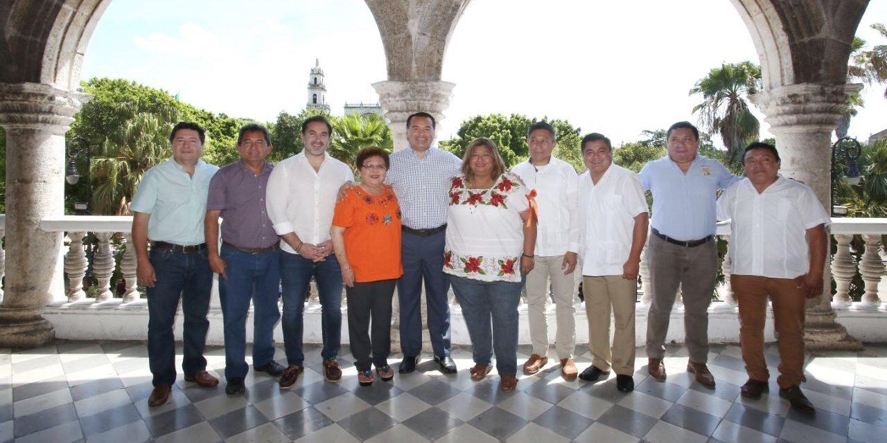 Ediles de Mérida y zona conurbada acuerdan agenda intermunicipal