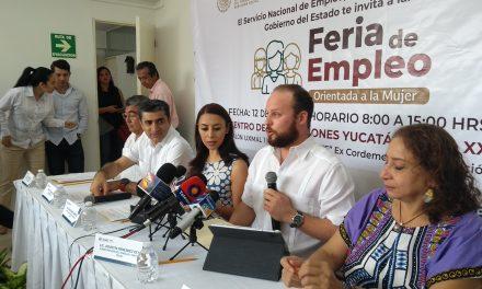 En primera Feria del Empleo para la Mujer se 'cuelan' hombres