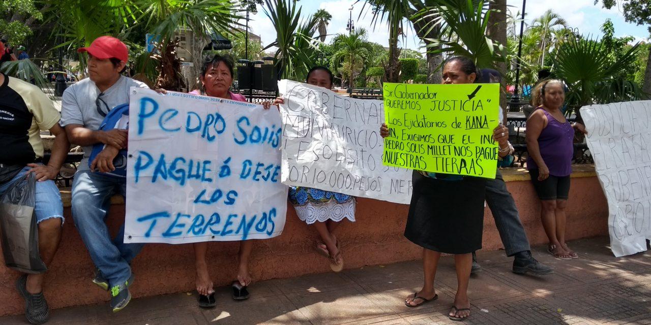 Ejidatarios de Kanasín exigen pago a constructor de 'Cielo Alto' (Vídeo)