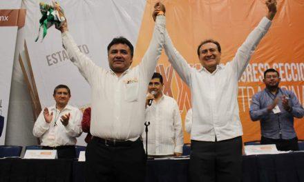 Nuevo líder de Sección 33 del SNTE: Francisco Espinosa Magaña