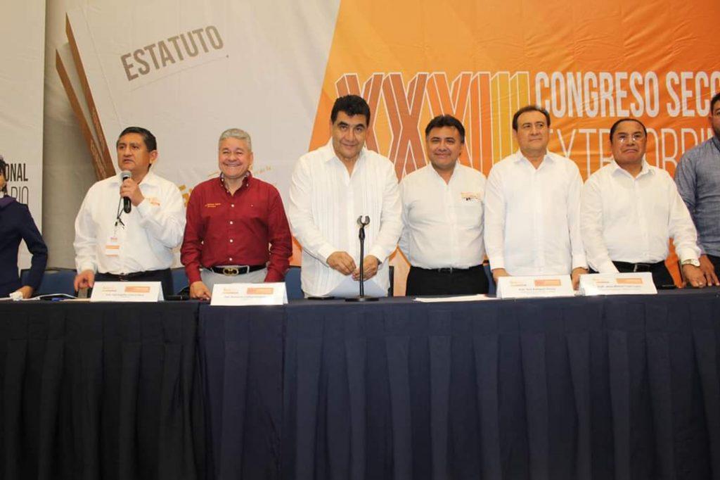 Nuevo líder de Sección 33 del SNTE: Francisco Espinosa