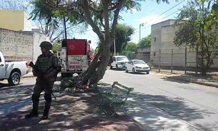 Asegurados 11 bidones en movilización militar y de policías