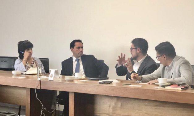 Lleva Vila tema de vivienda social a Sedatu y Conavi