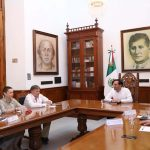 Vila recibe a embajador de Rusia en México, Viktor Koronelli