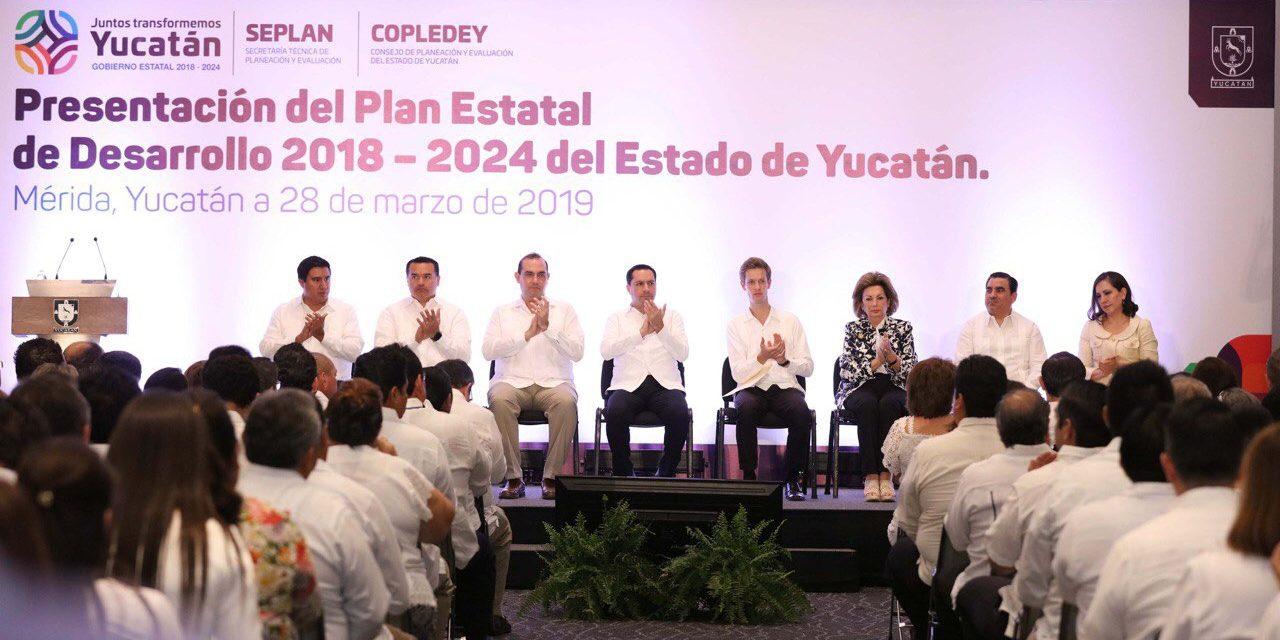 Plan Estatal de Desarrollo alinea esfuerzos de Yucatán con Federación