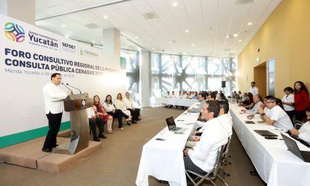 Trazan gobiernos federal y de Yucatán ruta en sector energético