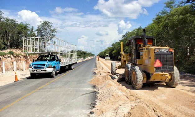 Continuará ampliación y modernización de carretera Mérida-Chetumal
