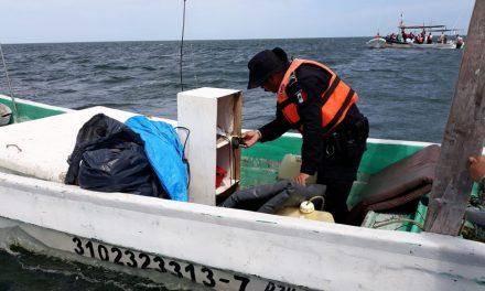 Sorprendidos en pesca ilegal en San Felipe; hay 5 detenidos