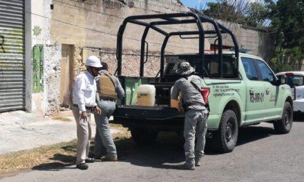 'Golpean' al sur de Mérida otro depósito irregular de combustible