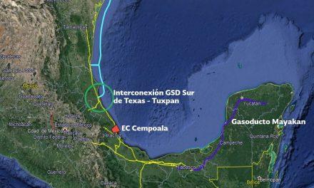 Inyectarán más gas natural al sureste a finales de mayo