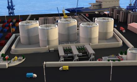Lista planta de almacenamiento de combustibles en Progreso