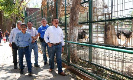 Parque zoológico del Centenario, en mantenimiento y con mejoras
