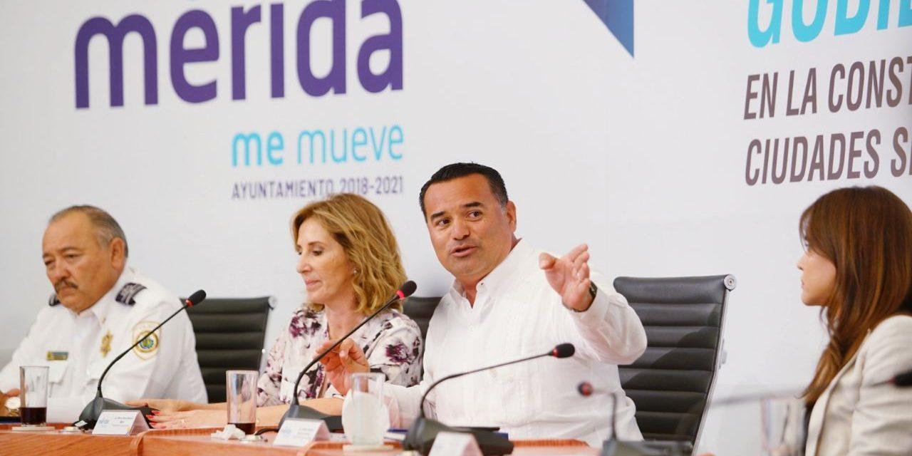 Acuerdan en Mérida conformación de la Red de Ciudades Seguras