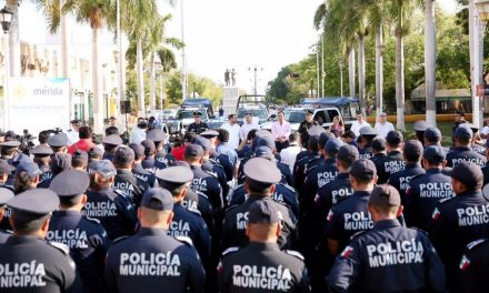 Arranca en Mérida operativo municipal de seguridad de Semana Santa 2019