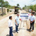 Extienden mejora de vialidades al poniente de Mérida