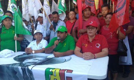 Rememoran a Zapata con protesta y reclamos de apoyo (Vídeo)