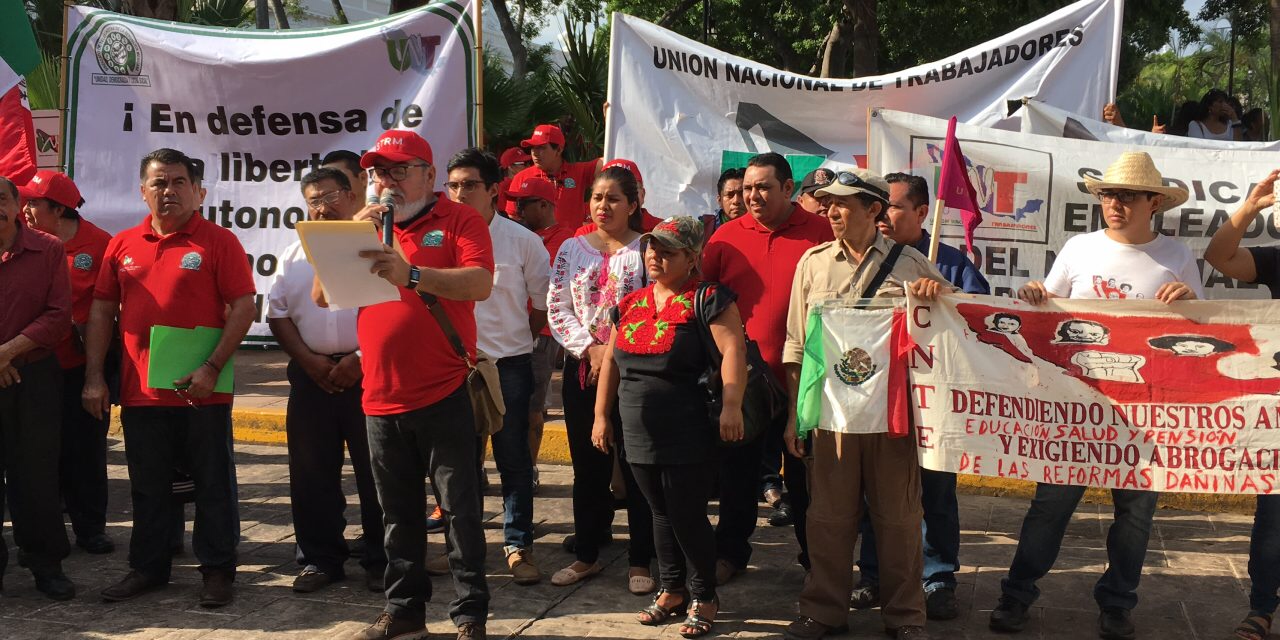 Rebeldía sindical se hará visible el 1 de Mayo
