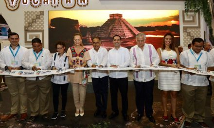 Mira cómo luce el Pabellón de Yucatán en Tianguis Turístico Acapulco 2019