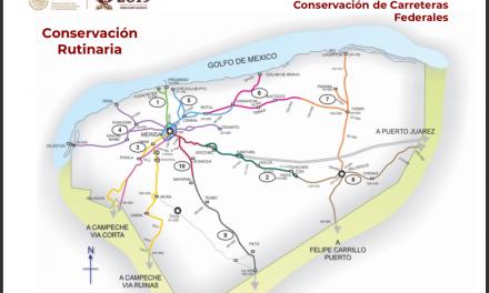 Presentan a constructores plan de 46 obras de SCT en Yucatán