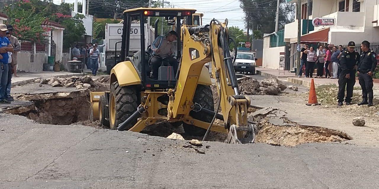 Cuevas y socavón: preocupan a vecinos en García Ginerés (Vídeo)