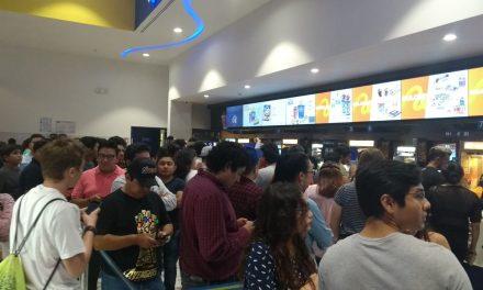 Tumultos en Mérida para presenciar Avengers: Endgame