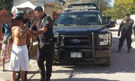 Disparan policías estatales contra presunto ladrón que resiste arresto